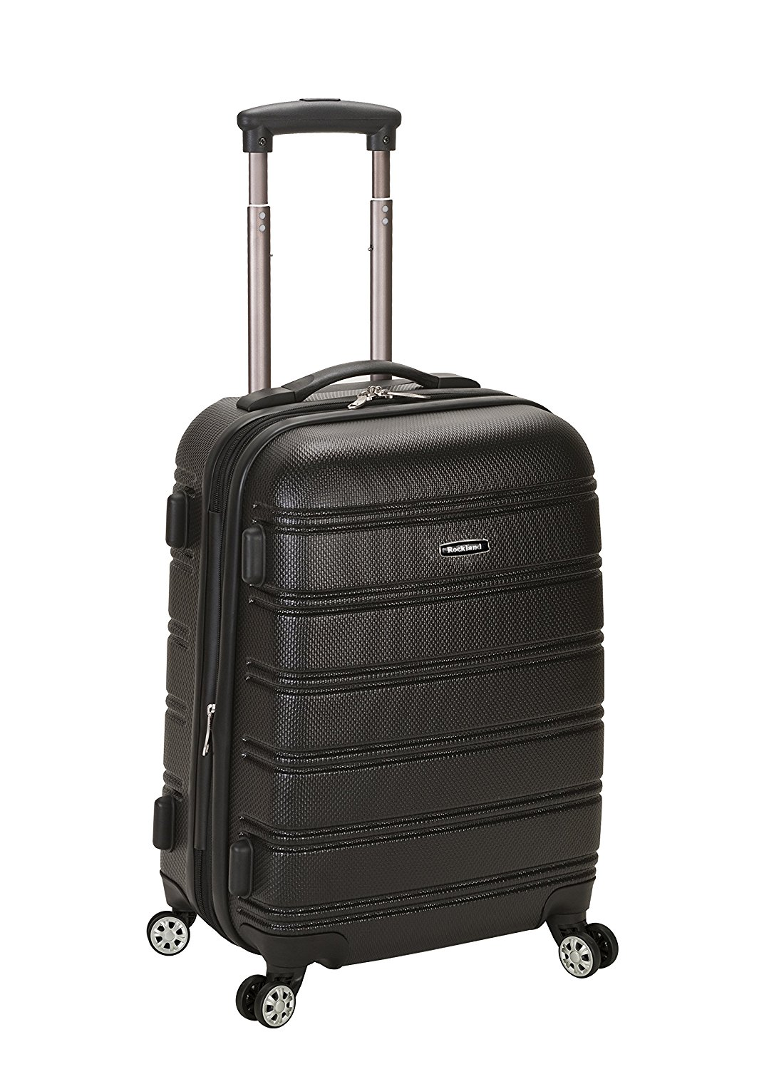 Rockland Luggage Melbourne 20 Inch Expandable Abs Carry-On Luggage