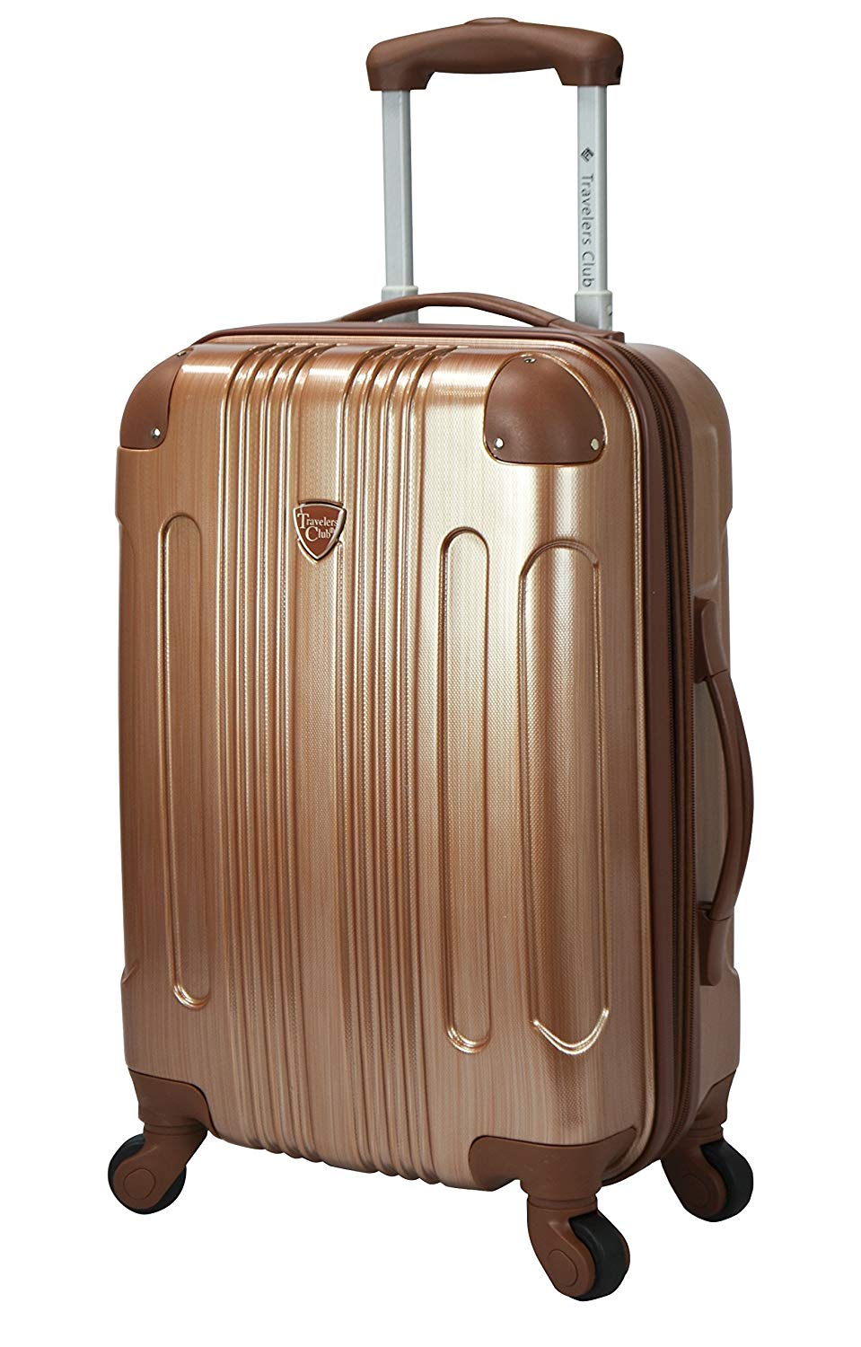 Travelers Club 20 Polaris Metallic Accented Hardside Expandable Carry-On Luggage