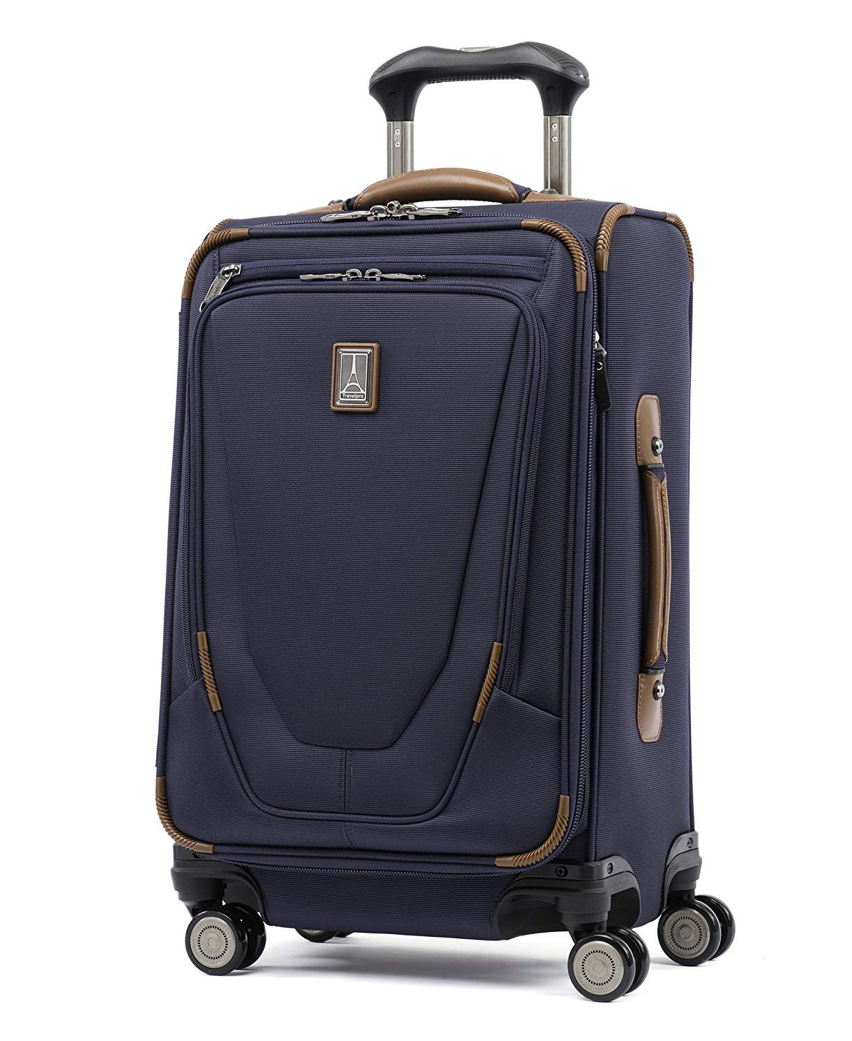 Travelpro Luggage Crew 11 21 Carry-on Expandable Spinner wSuiter and USB Port