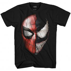 Venom & Spider-Man Split T-Shirt