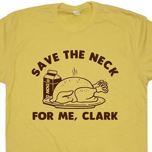 Save the Neck Funny Thanksgiving T-Shirt