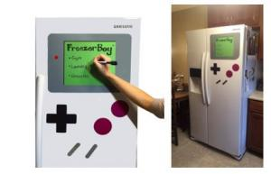 Gameboy Themed Dry-Erase Whiteboard Refrigerator Magnet