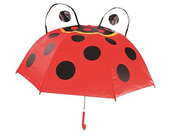 Ladybug Rain Umbrella for kids