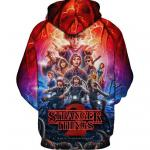 Mike Lucas and all Stranger Things Characters Hoodie