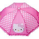 Pink Hello Kitty Umbrella For Girls