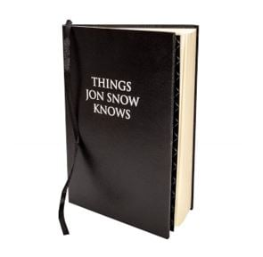 Things Jon Snow Knows Journal