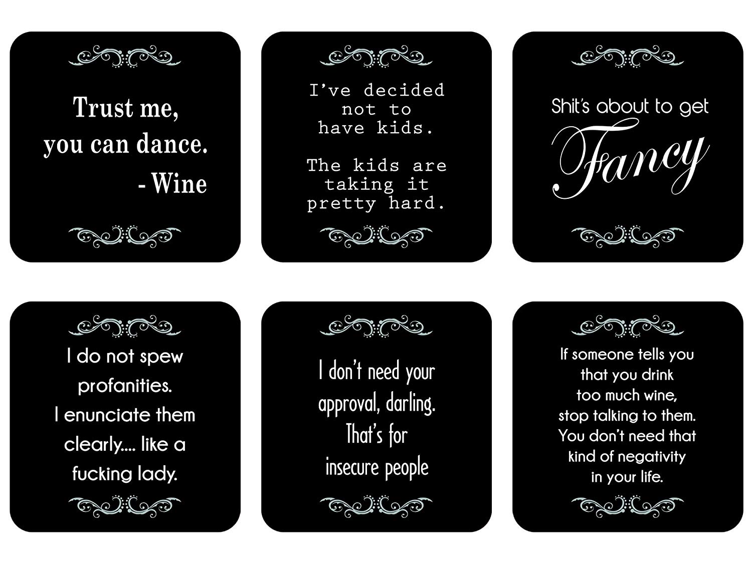 Funny Novelty Coasters