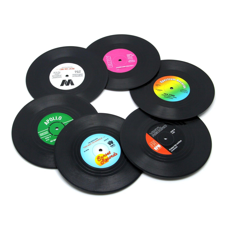 Vinyl Record Disk Coaster