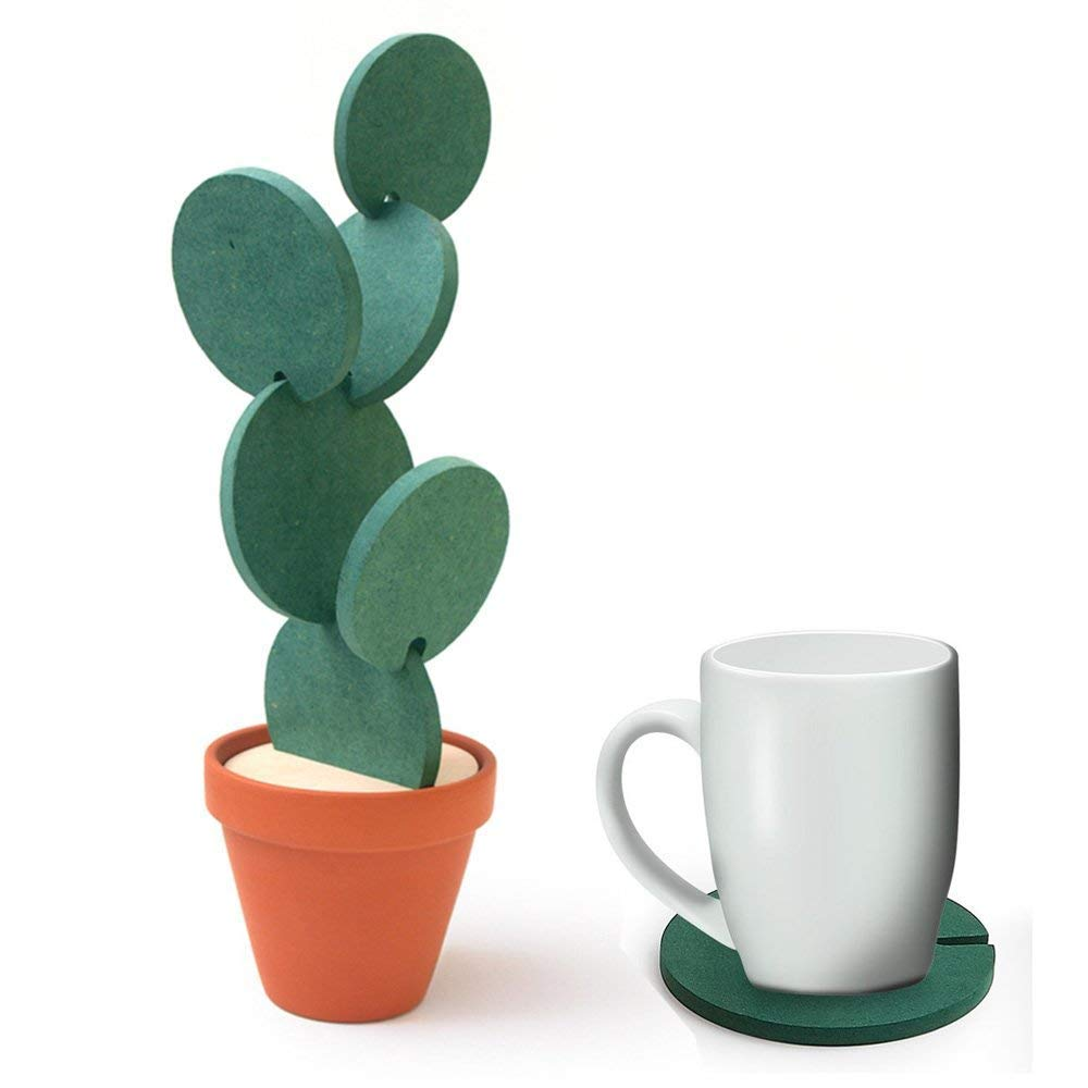 Cactus Shaped Coaster
