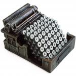 Typewriter Coasters