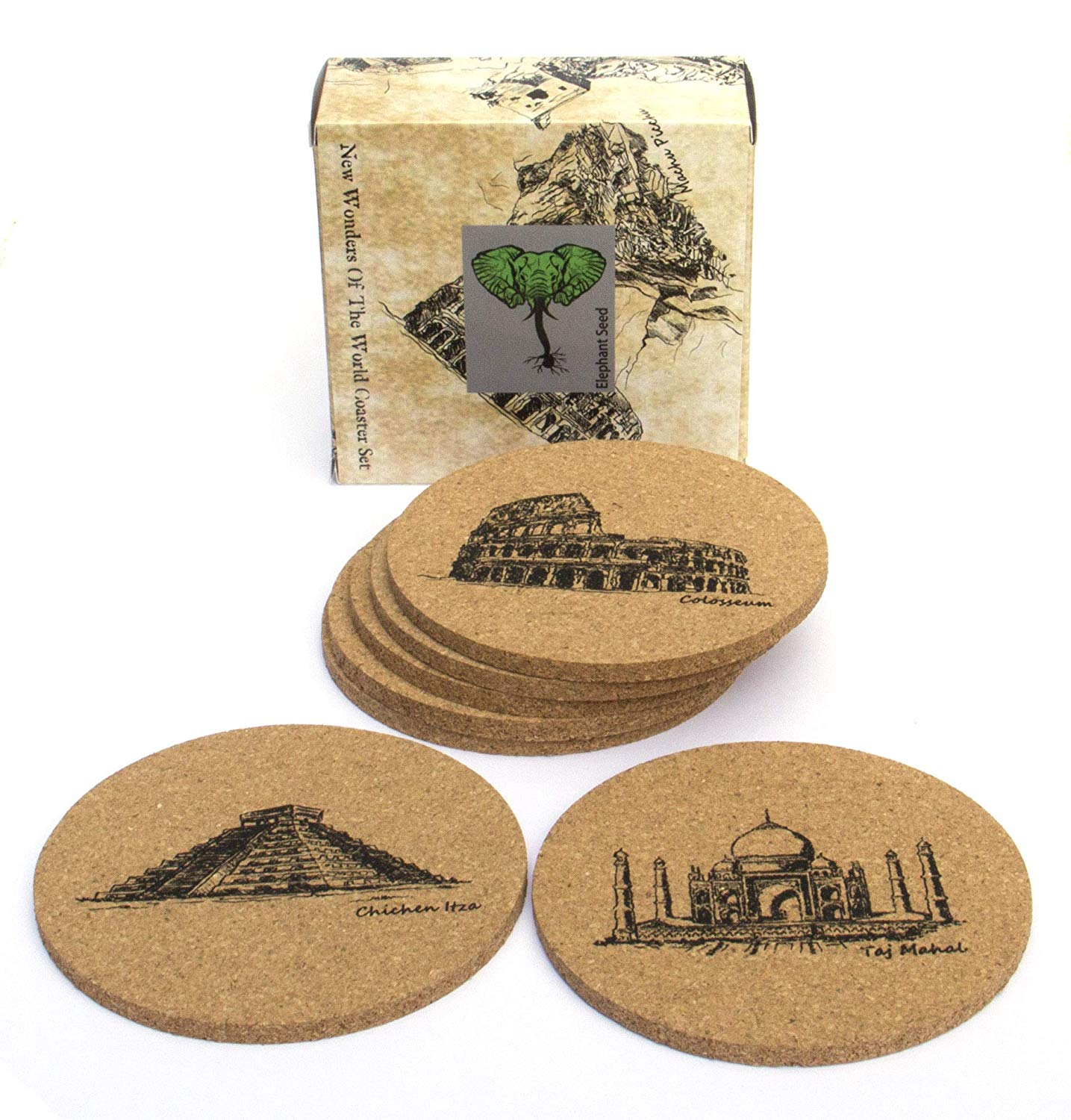 7 Wonders Of The World Coasters