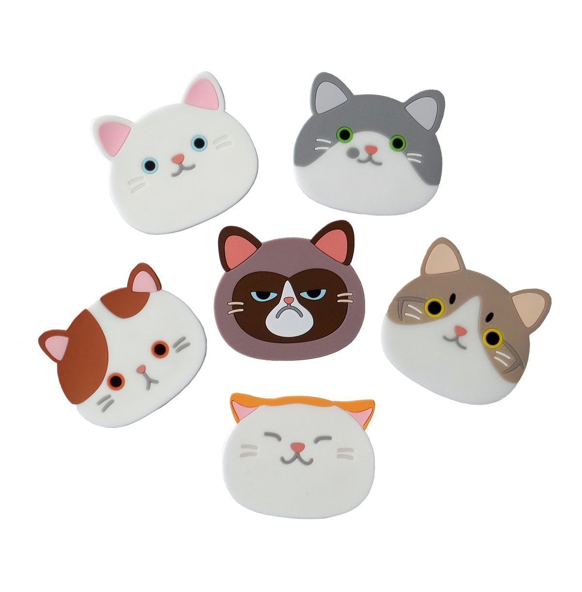 Cute Cat Coasters