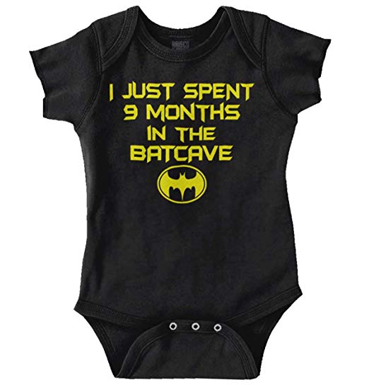 Batman Batcave Onesies