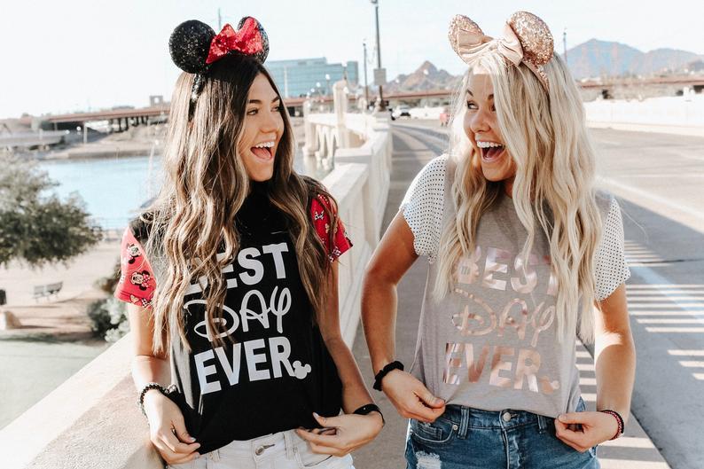 Best Day Ever Etsy Disney Shirt