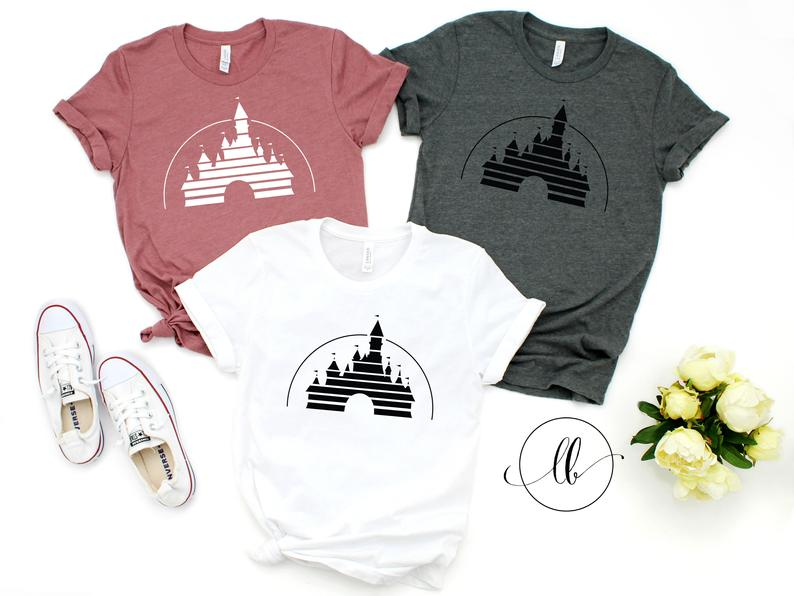 Cool and Classic Castle Disney Shirt