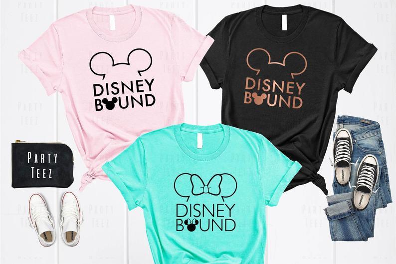 Disney Bound Etsy Shirt
