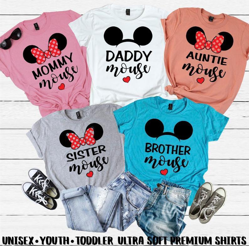 Disney Family Matching Shirts