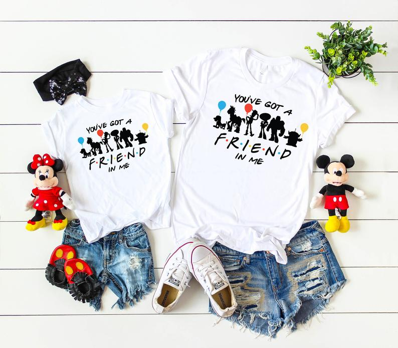 Disney Friends Inspired You've Got a Friend in Me Matching Shirts