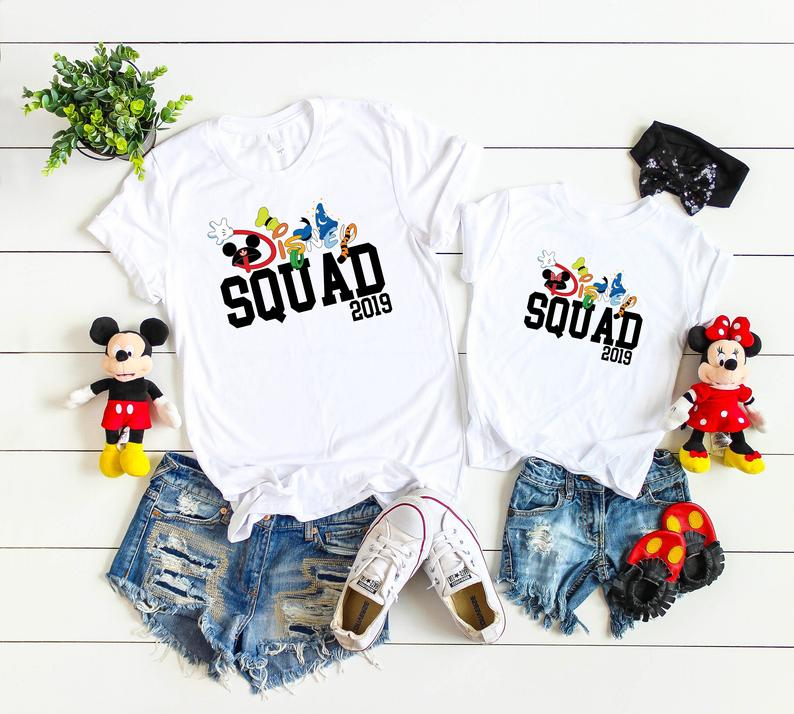 Disney Squad 2019 Family Vacation Matching Shirts