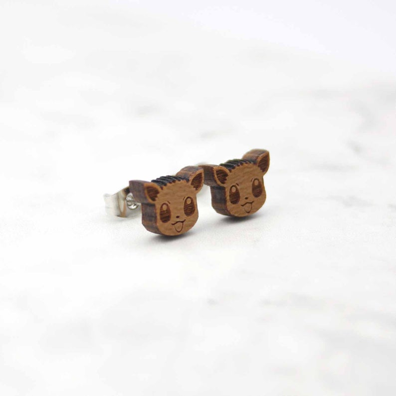 Geeky Pokemon Stud Earrings