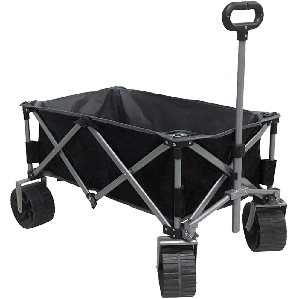 Eurmax Sports Collapsible Sturdy Beach Wagon