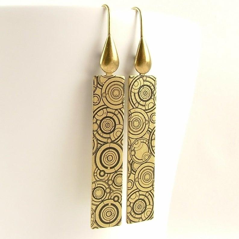 Sci-Fi Jewelry earrings