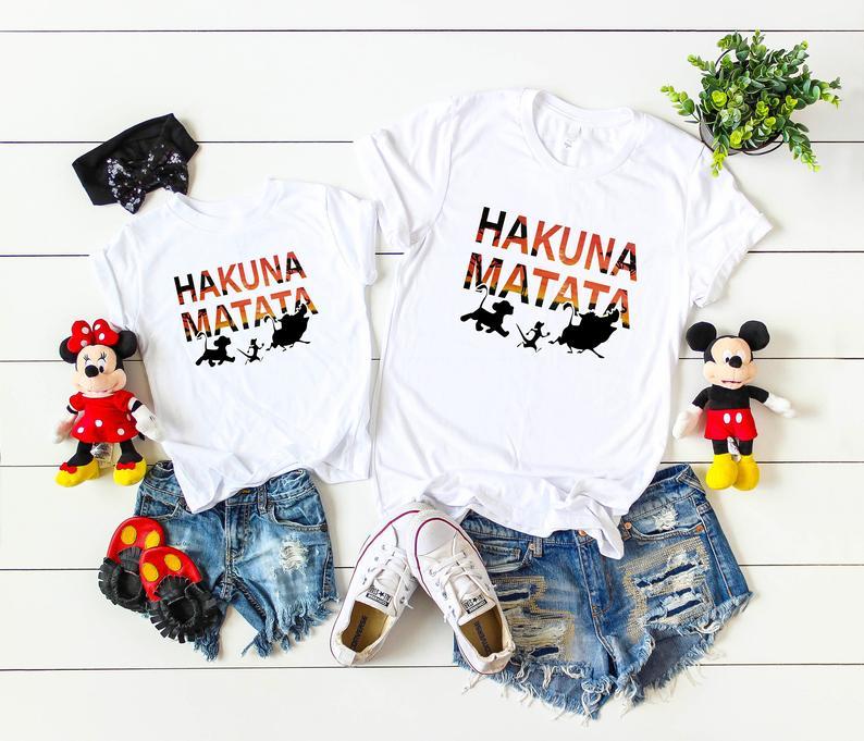 Hakuna Matata Disney Shirts