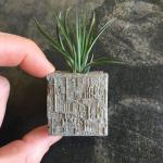 very cool star trek borg concrete planter with magnet
