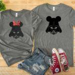 Star Wars Disney Couple Shirts