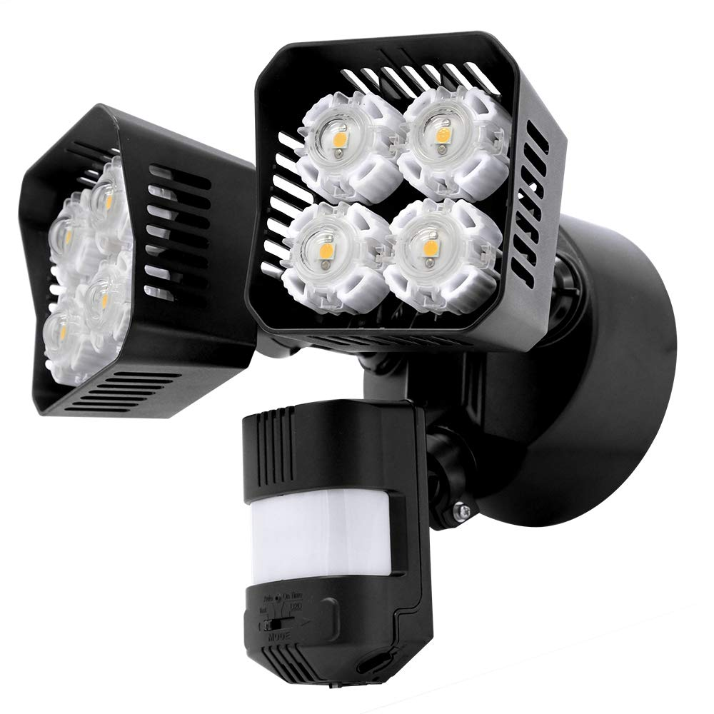3 Head LED Security Lights BY Amico