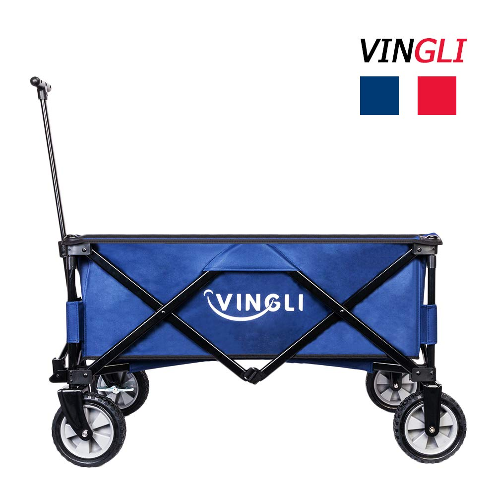 VINGLI Portable Collapsible Utility Wagon