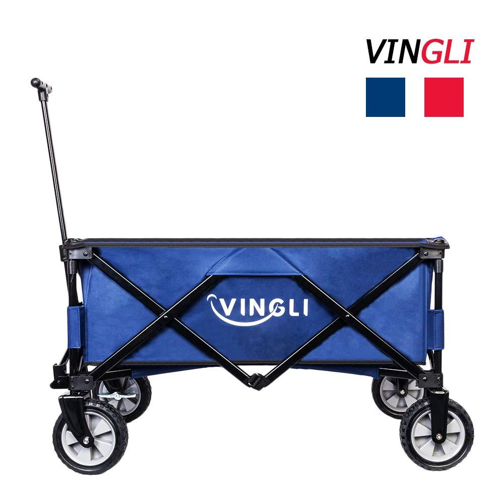 VINGLI Portable Collapsible Utility Wagon