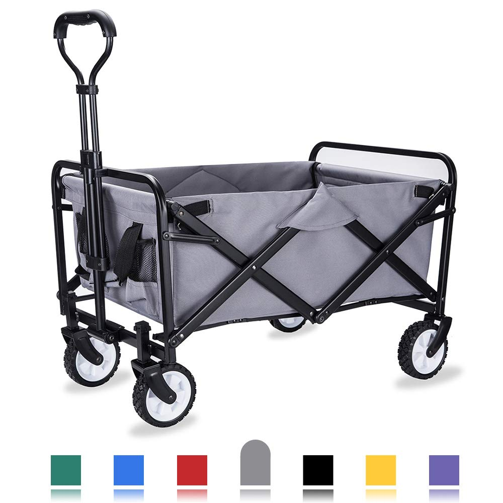 WHITSUNDAY Collapsible Folding Garden Outdoor Park Utility Wagon