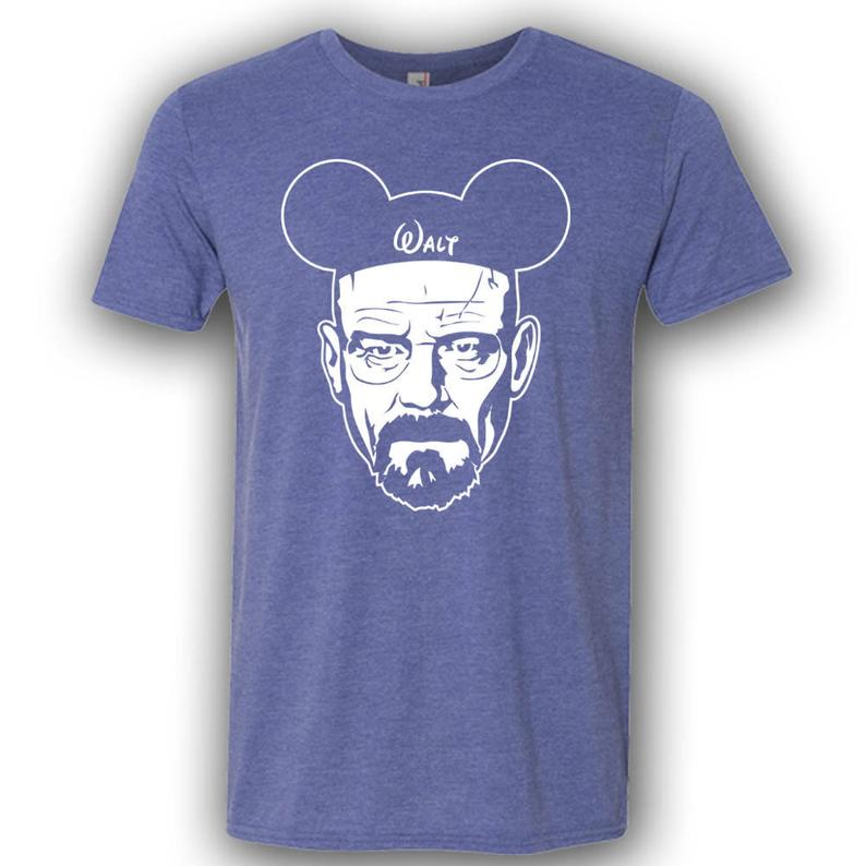 Walter White breaking bad inspired Etsy Disney Shirt