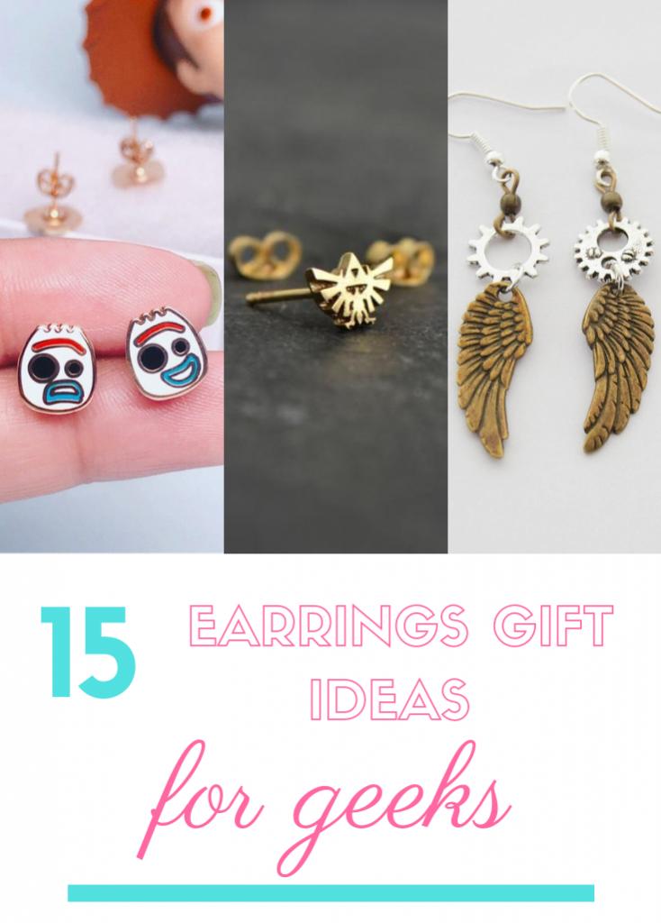 best earrings gift ideas for geeks