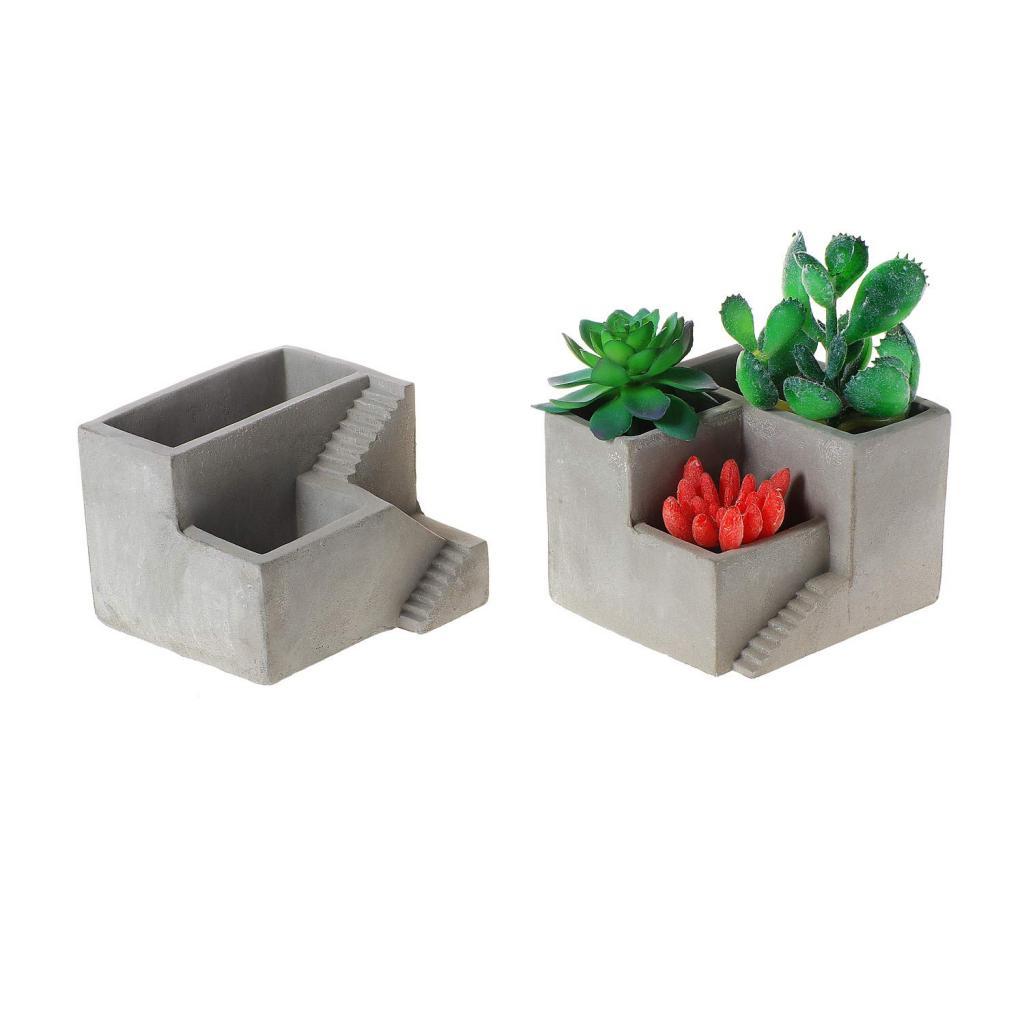 cool concrete planter