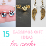 earrings gift ideas for geeks