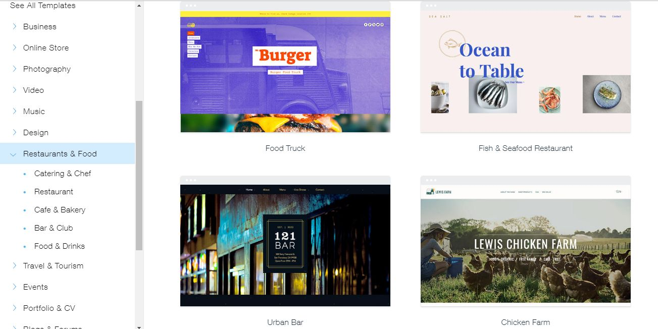 view or edit templates on wix