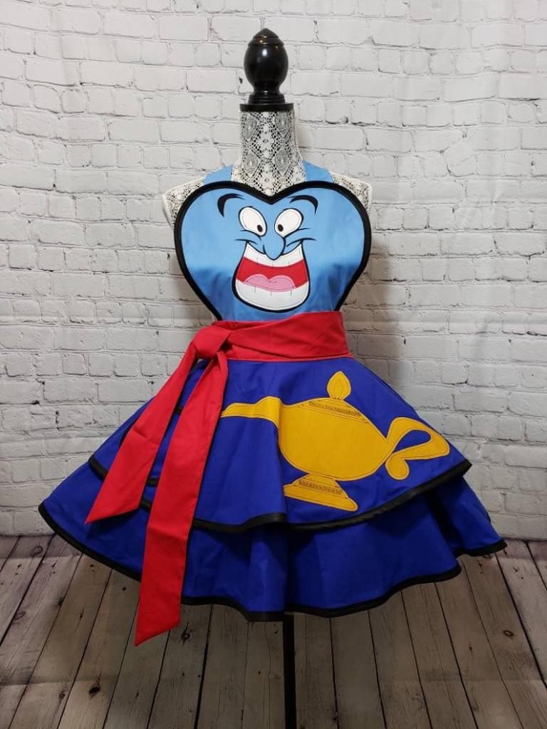 Aladdin Genie halloween costume apron
