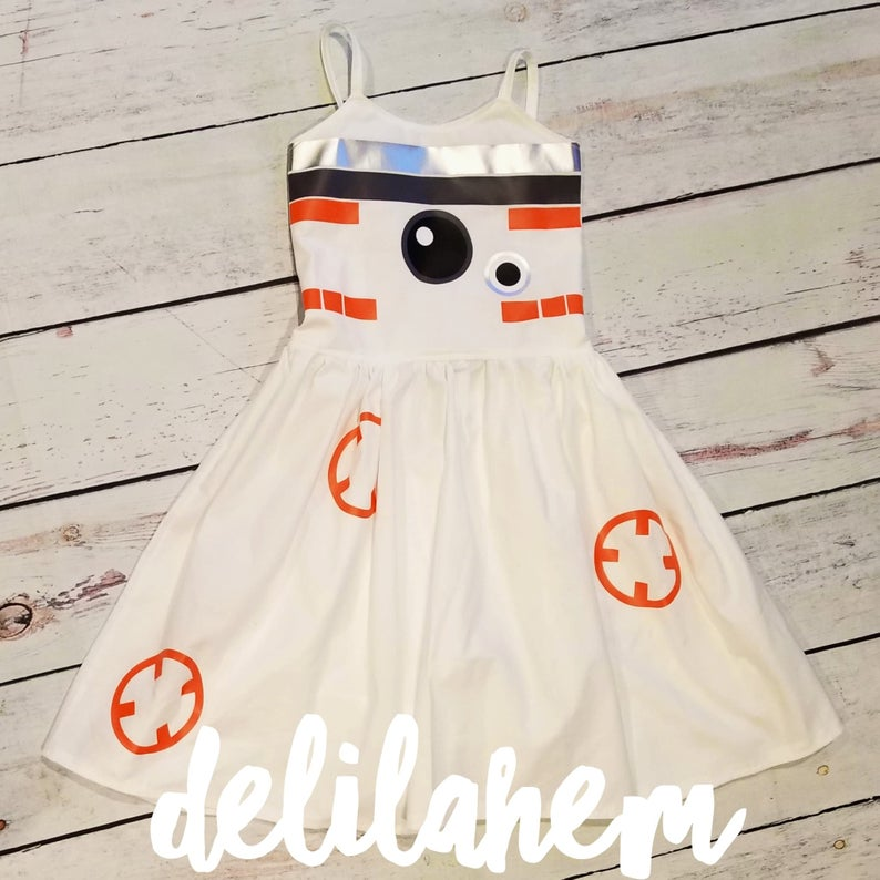 BB8 Star Wars dresses for babies