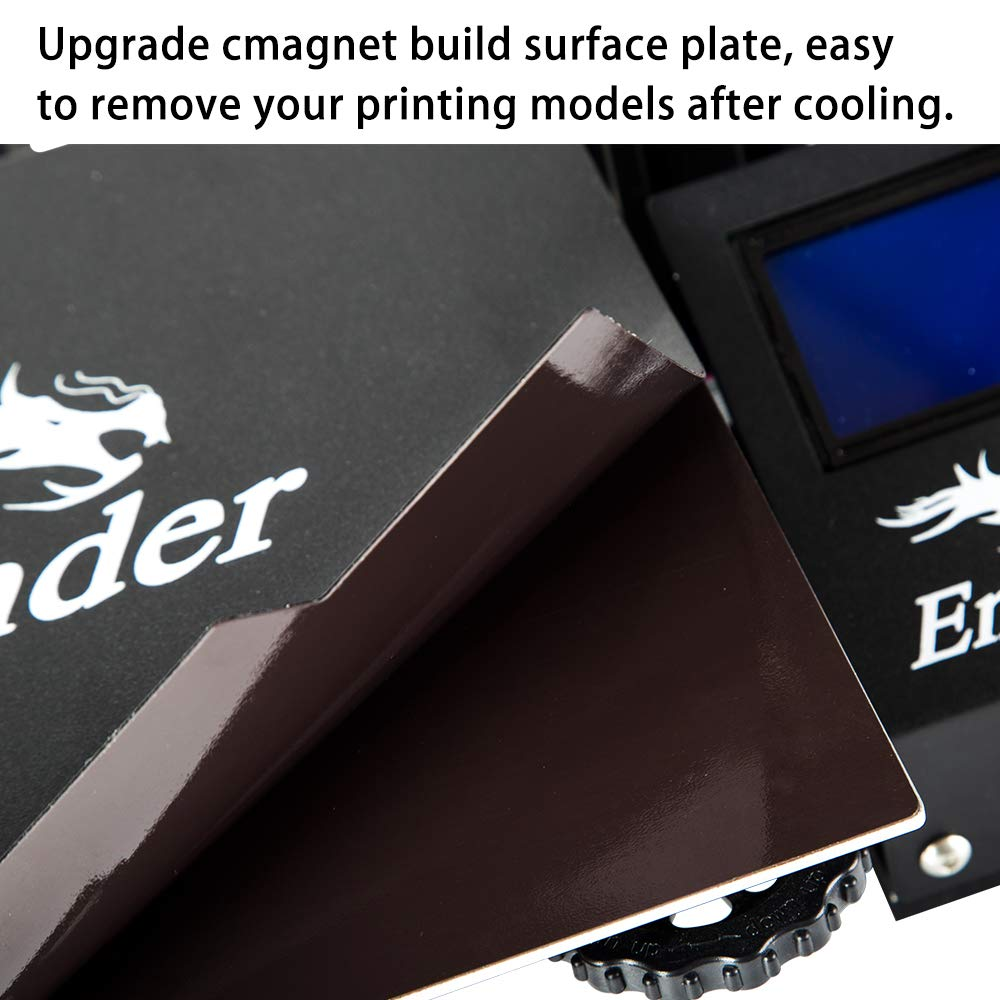 Comgrow Creality Ender 3 Pro 3D Printer with Removable Build Surface Plate