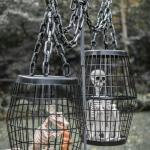 DIY Hanging Cage Halloween Prop