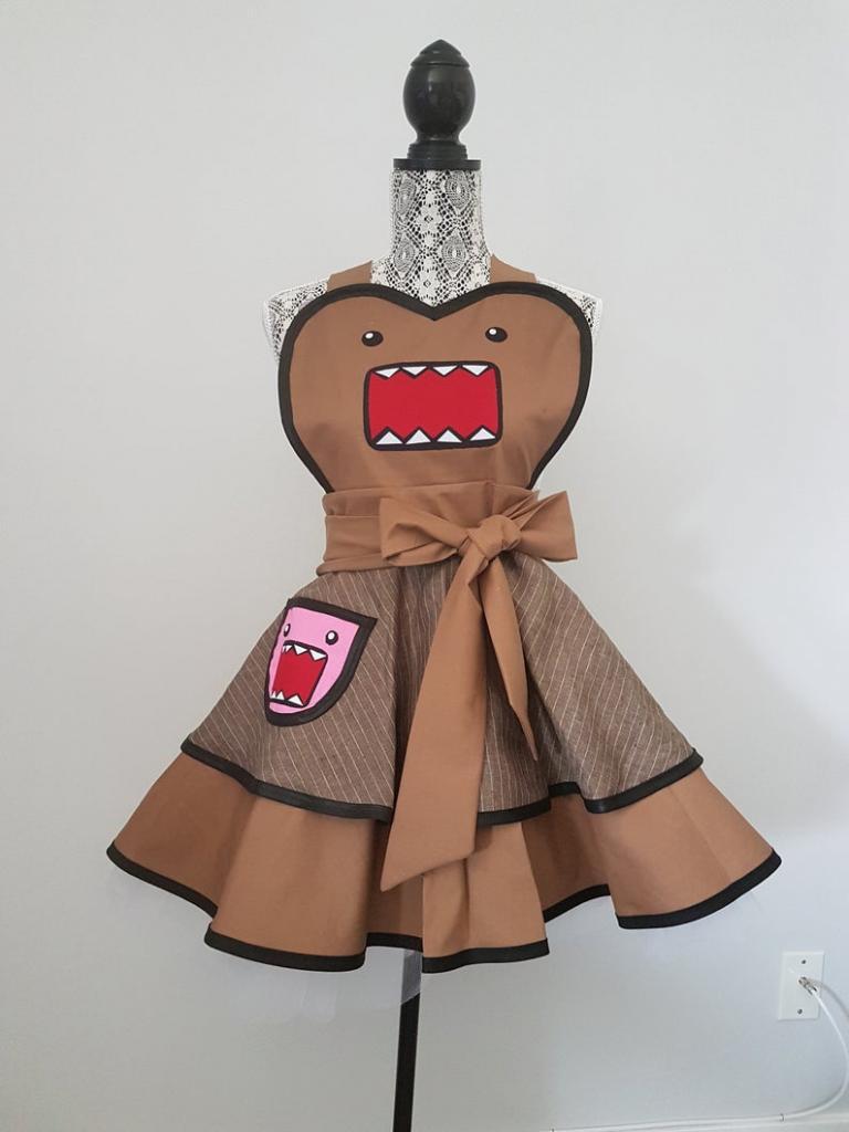 Domo Kun halloween costume apron