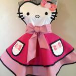 Hello Kitty halloween cosplay apron