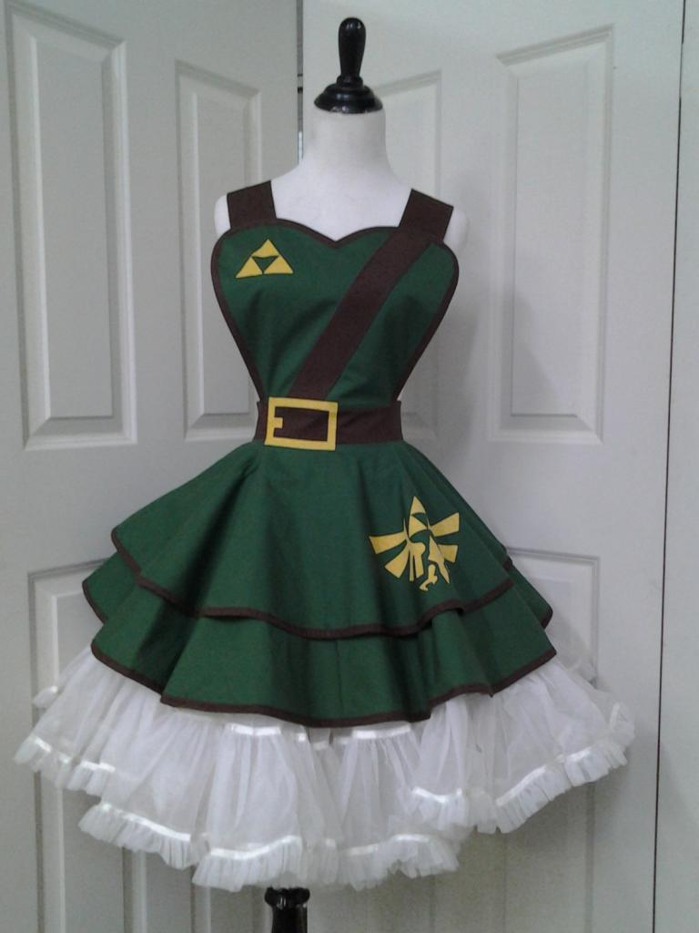 Legend of Zelda handmade halloween costume apron