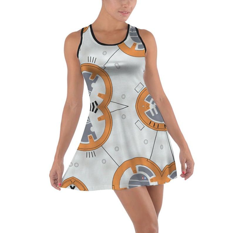 Little Round Droid BB8 Star Wars dress