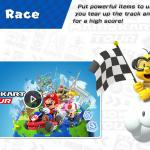 Mario Kart lets you collect cool things