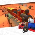 Explore different cities on Mario Kart tour