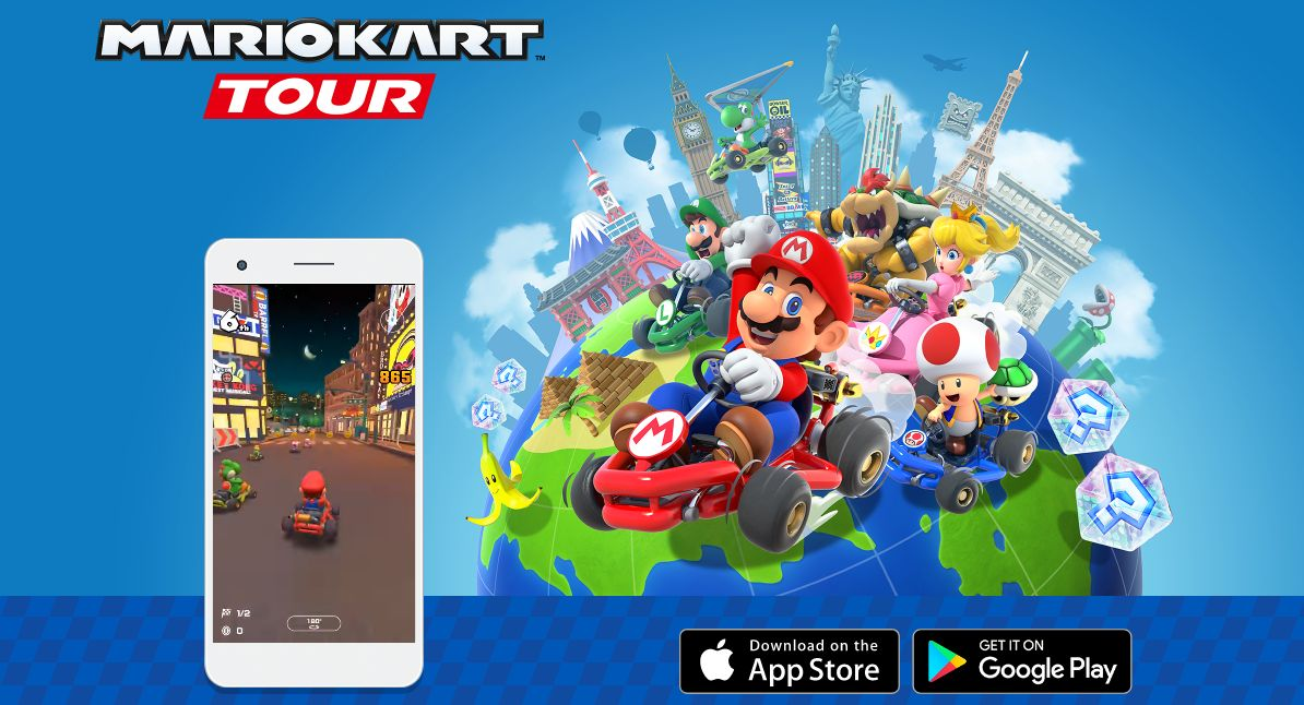 Mario Kart Tour is a great game to play