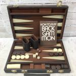 Portable Backgammon Board Set